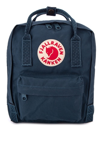 Fjallraven Kanken navy Kånken Mini Backpack FJ509AC0J2TPPH_1