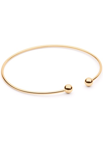 Pastiche gold Kiss to the Night Bangle 9D48FACDD186D7GS_1