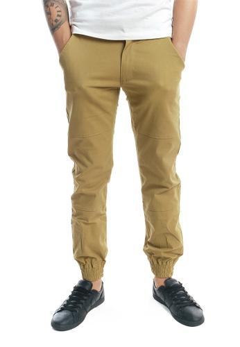 Praise brown Jogger Pants PR067AA81KJQSG_1