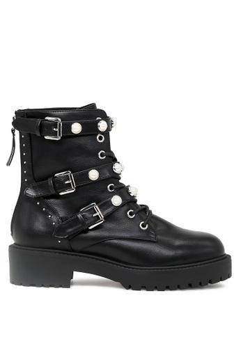 Rag & CO. 黑色 黑色靴子 RCSH1718 9B5C1SHB72AB0BGS_1