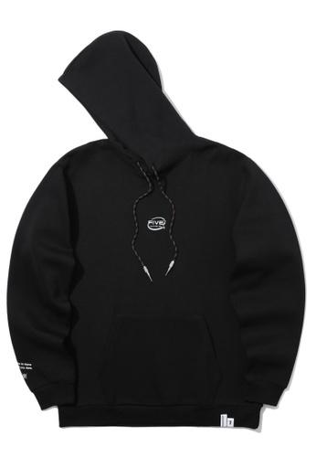 Fivecm black Logo hoodie 9FDBFAAB087C60GS_1