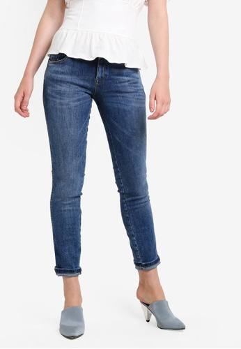 Mango blue Push-Up Uptwon Jeans MA193AA34CBPMY_1