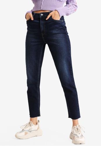PIMKIE blue Straight Cut Jeans 6303EAA1C8820CGS_1