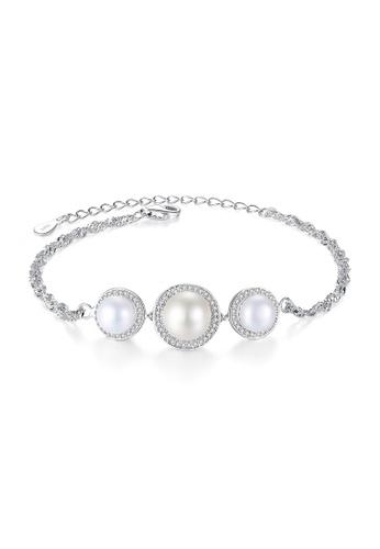 A.Excellence white Premium White Pearl Bracelet 047B1ACA70D052GS_1