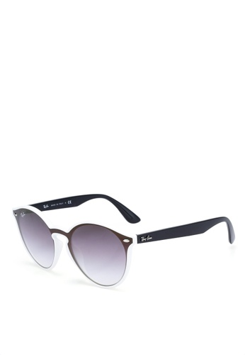 10704db55b Buy Ray-Ban Highstreet RB4380NF Sunglasses Online on ZALORA Singapore