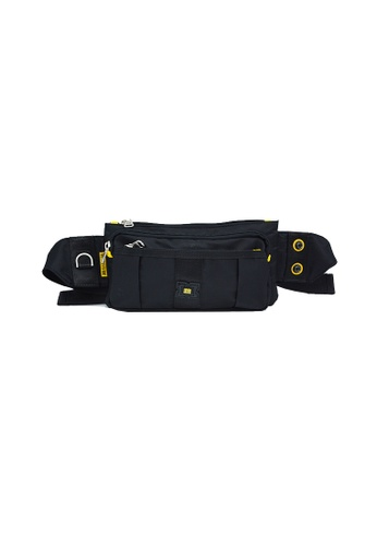 EXTREME black Extreme Nylon waist bag casual chest bag travel adventure hiking fanny pack 47B73ACBF2608EGS_1