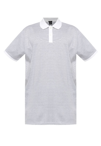 BOSS 白色 Parlay Polo Shirt F4F48AA924A00BGS_1