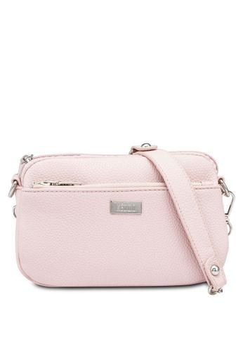 Keddo pink Avery Crossbody Bag 16156AC3E9EC08GS_1
