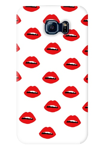 Wonder Cover red Lips Hard Case for Samsung Galaxy S6 WO617AC46URXPH_1
