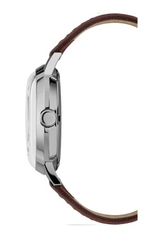 2efcf28a7e65 TIMEX Timex - Marlin® Automatic 40mm - SS Case Brown Leather Strap -  (TW2T22700) S  495.00. Sizes One Size