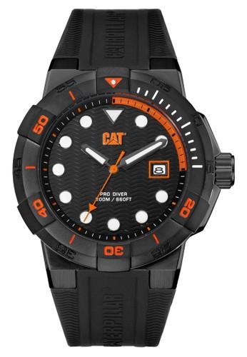 Caterpillar black Casual Men's WatchesCAT SI.161.21.124 36109ACE62ADA3GS_1