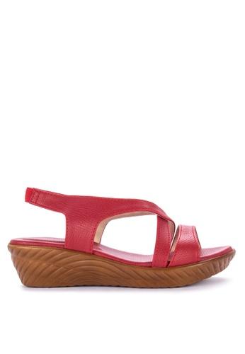 c161e3c5387 Shop Spring Fling Blanche Wedge Sandals Online on ZALORA Philippines