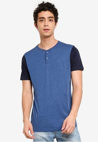 b06102b7db42 Buy Brave Soul Contrast Colour Sleeve T-Shirt | ZALORA HK