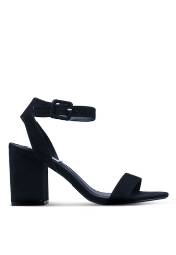Momento Estrecho de Bering marea  Buy Steve Madden Malia Open Toe Ankle Strap Block Heels Online | ZALORA  Malaysia