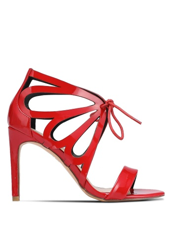 Something Borrowed red Butterfly Cut Out Heels 46A19SH545D1BAGS_1