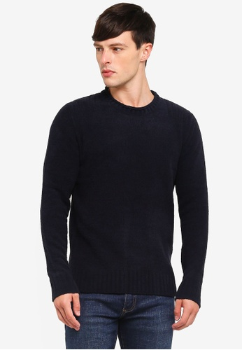 Buy Jack   Jones Crew Neck Knit Pullover Online on ZALORA Singapore ab9e69358b