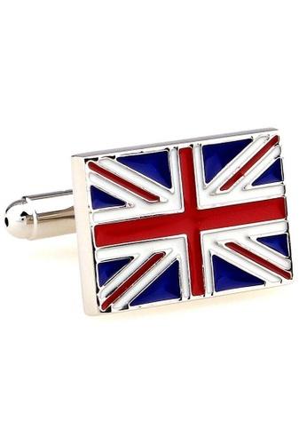 The Little Link Cufflinks blue Great Britain cufflinks TH089AC0G4Y5SG_1