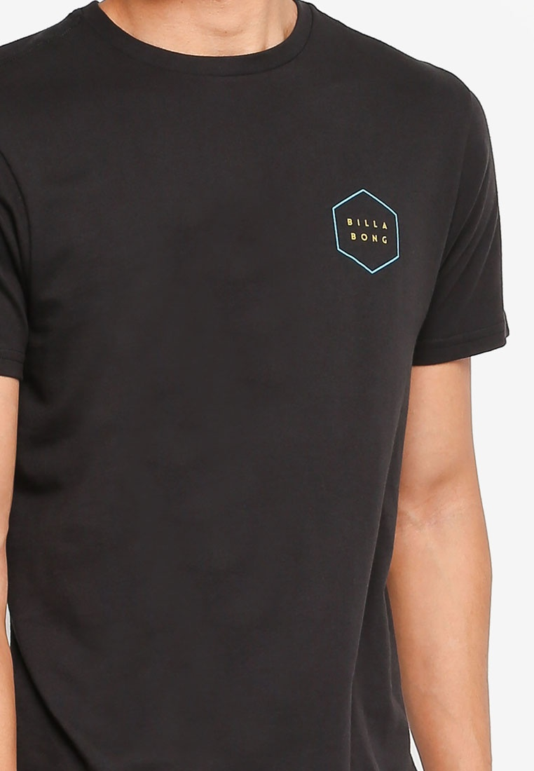 Black Black Tee Billabong Border Access Tee Border Access Billabong SqxwOqvUf