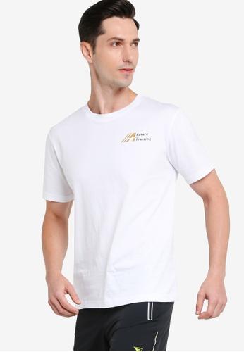 361° white Cross Training Short Sleeve T-shirt B4FF2AA758D196GS_1
