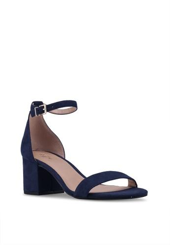 8088e9eb5c271 Buy Call It Spring Mynah Open Toe Ankle Strap Block Heels Online | ZALORA  Malaysia