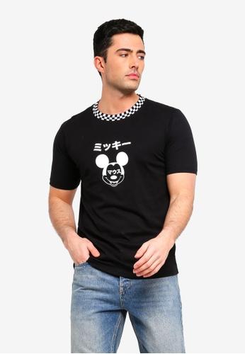 Cotton On 黑色 印花T恤 09EEFAAC57122DGS_1