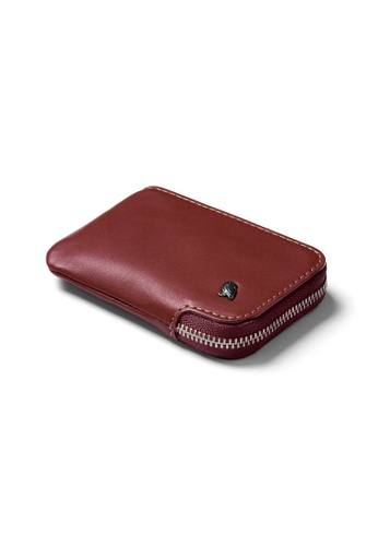 Bellroy red Bellroy Card Pocket - Red Earth D77E6ACD68685EGS_1