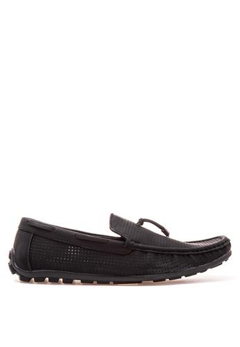 Wade black Smart Casual Loafers WA436SH87JXSPH_1