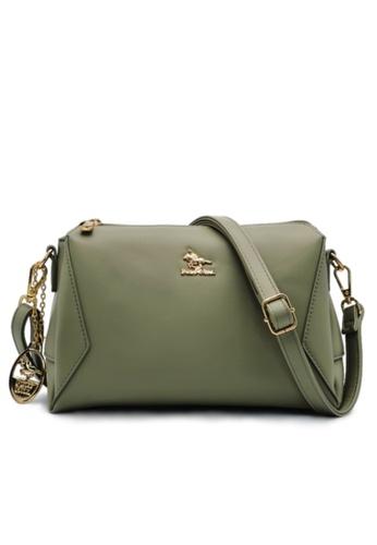 POLO HILL green Polo Hill Envie Crossbody Sling Bag 84094AC0C2AB2CGS_1