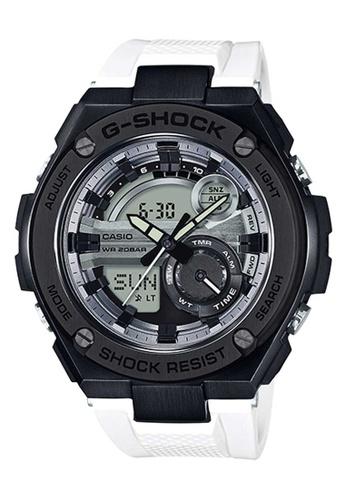 CASIO multi Casio G-Shock G-Steel Black and White Resin Watch 4692CAC87F61BBGS_1