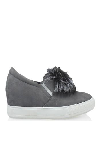 GOSH grey Slip-On Wedges CE75FSH6AC3361GS 1 15147d6e2a