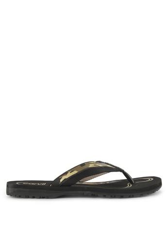 CARVIL black Sandal Sponge Man Rodeon D61B6SHB377F03GS_1