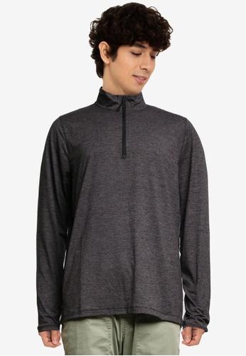 ABERCROMBIE & FITCH 黑色 Air針織高領上衣 148B3AAC8DD463GS_1