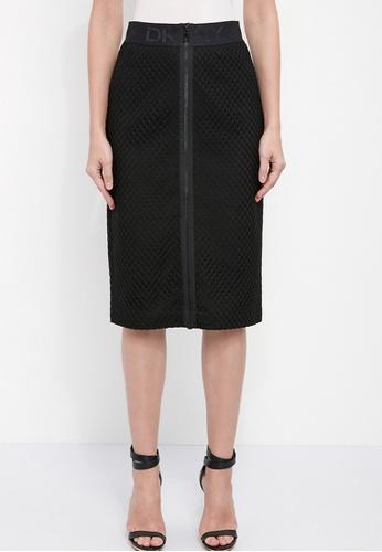 Dkny black DKNY Women Mesh Pencil Skirt 26792AA4E47BD8GS_1
