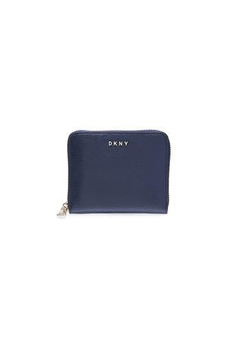 Dkny navy DKNY Women Bryant Zip Around Wallet - Spring & Summer 2021 ED250AC3B82CFBGS_1