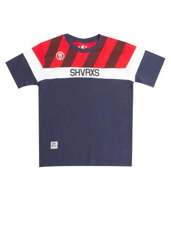 SHARKS red Typo Series Tshirt B2690KA2026CE8GS_1
