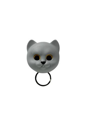 Qualy Qualy Neko Cat Key Holder (Grey) 444D5HL2BE8B83GS_1