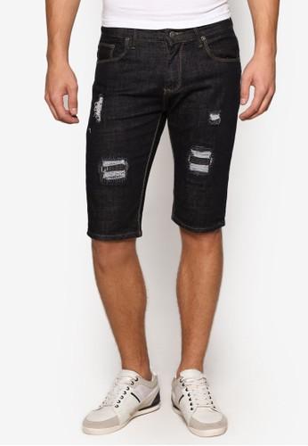 刷破丹寧短褲, 服飾esprit香港門市, 短褲