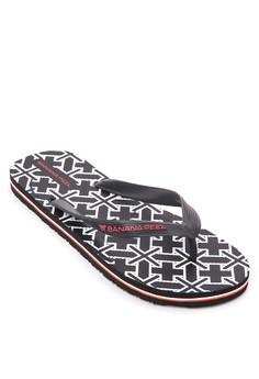 Back To Black Flip Flops