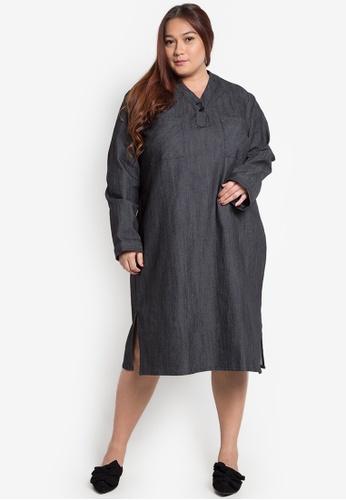 Shop Amelia Plus Size Polo Dress Kathy Online On Zalora Philippines
