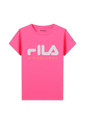 FILA pink FILA KIDS FILA Logo MIND BLOWER T-shirt 8-15yrs 280B7KA0B6948FGS_1