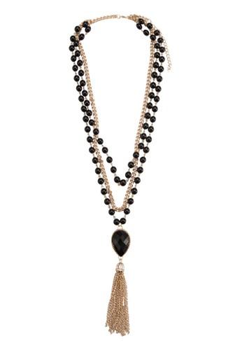 Kaylesprit outlet 高雄a 雙層串珠項鍊, 飾品配件, 項鍊