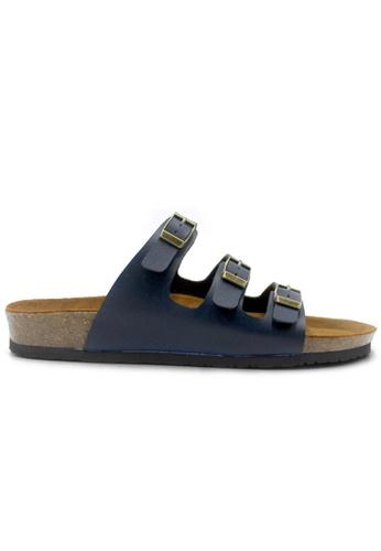 SoleSimple blue Ely - Blue Sandals & Flip Flops E9353SH544BAF6GS_1