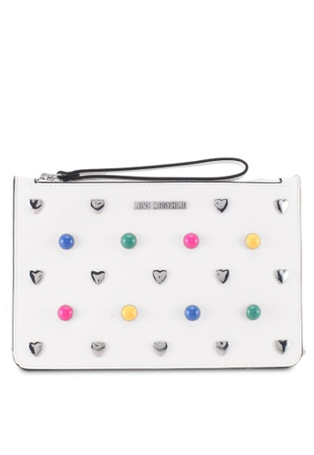 Love Moschino white LOVE MOSCHINO Bag LO478AC0SXXHMY_1