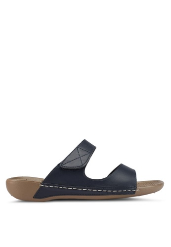 Bata navy Pusti Sandals 2561CSH4178BECGS_1