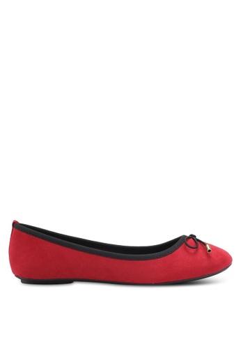 Bata red Ursule Flats 6BBDFSHF482D0FGS_1