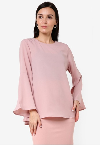 BYN pink Bayung Salorma Top BY059AA70VJDMY_1