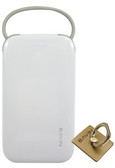 Bavin Pure Love 7200mAh Power bank with FREE Mobile Ring Holder