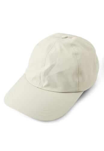 GLOBAL WORK beige Woven Low Cap CA048AC496A090GS_1