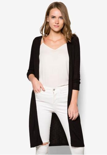 針織開襟長版外套, 服飾, esprit台灣外套