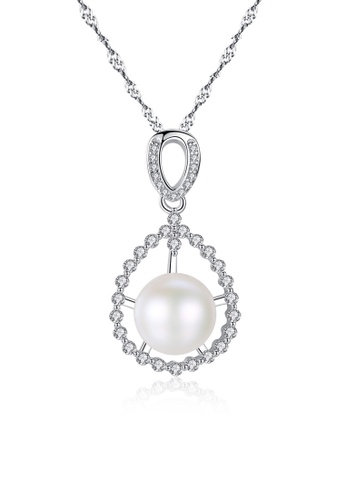 A.Excellence white Premium White Pearl Elegant Necklace 70F4BACF9BD8E1GS_1